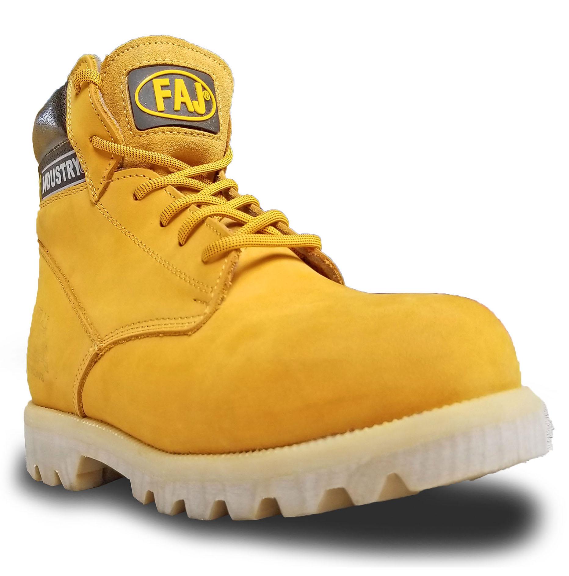 Zapato Strong dielectrico Amarillo 14KV
