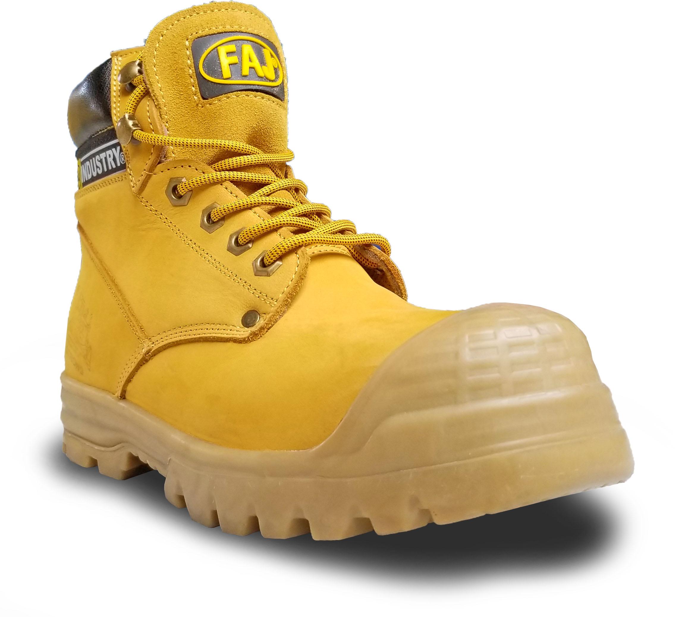 Calzado De Seguridad Amarillo Reforzado