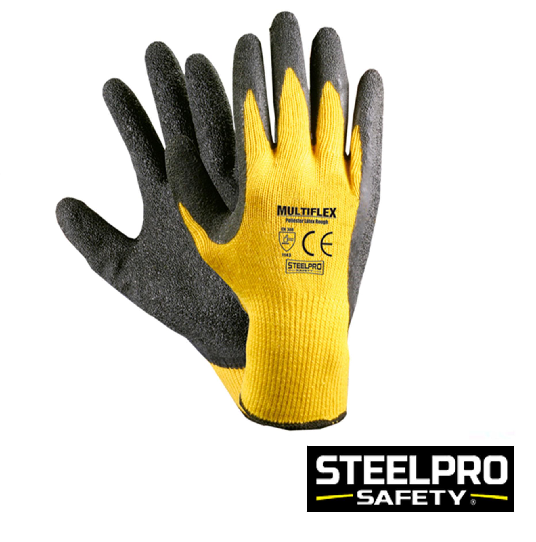 Guante Multiflex Amarillo Negro