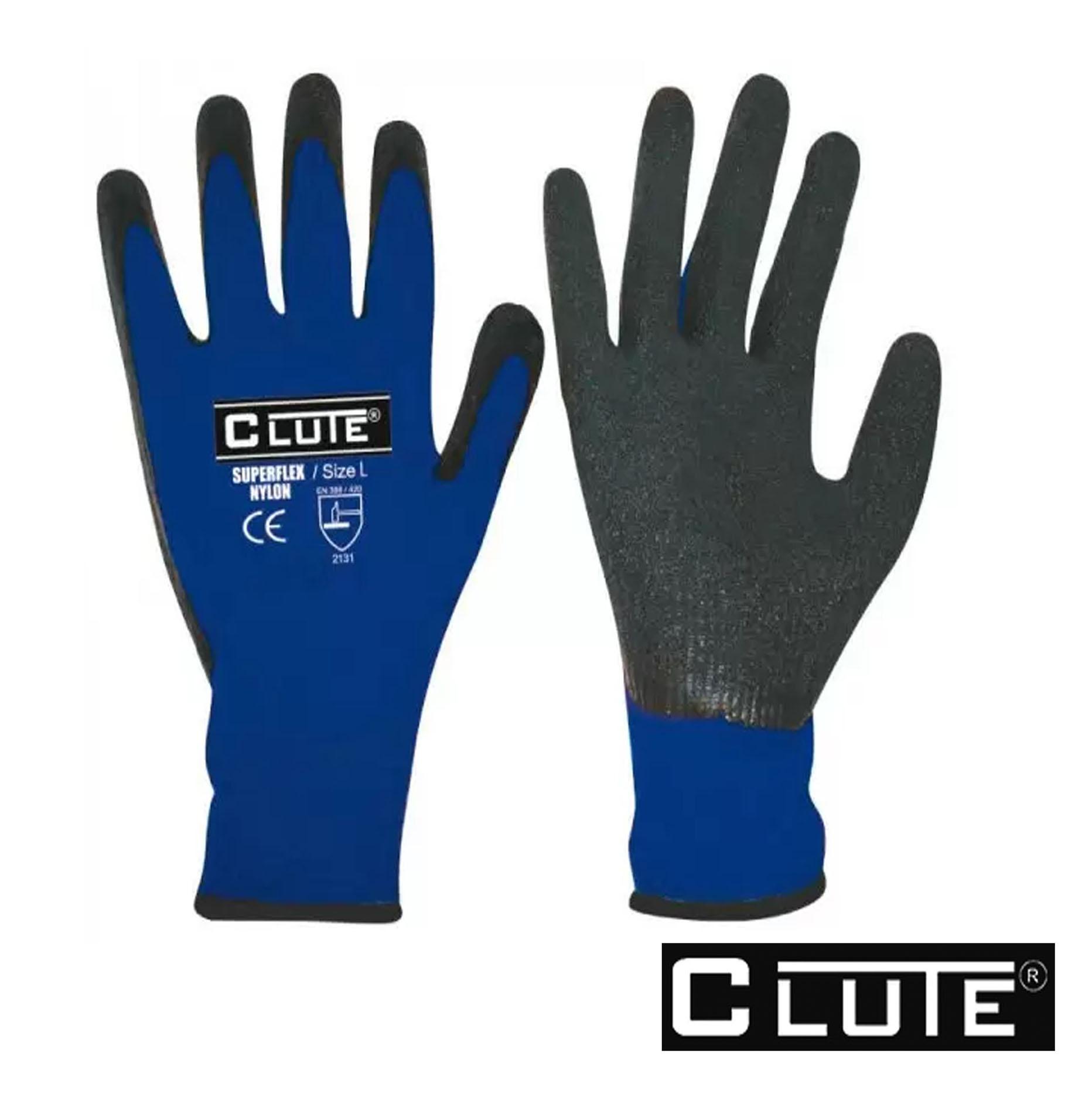 Guante Multiuso Azul Negro
