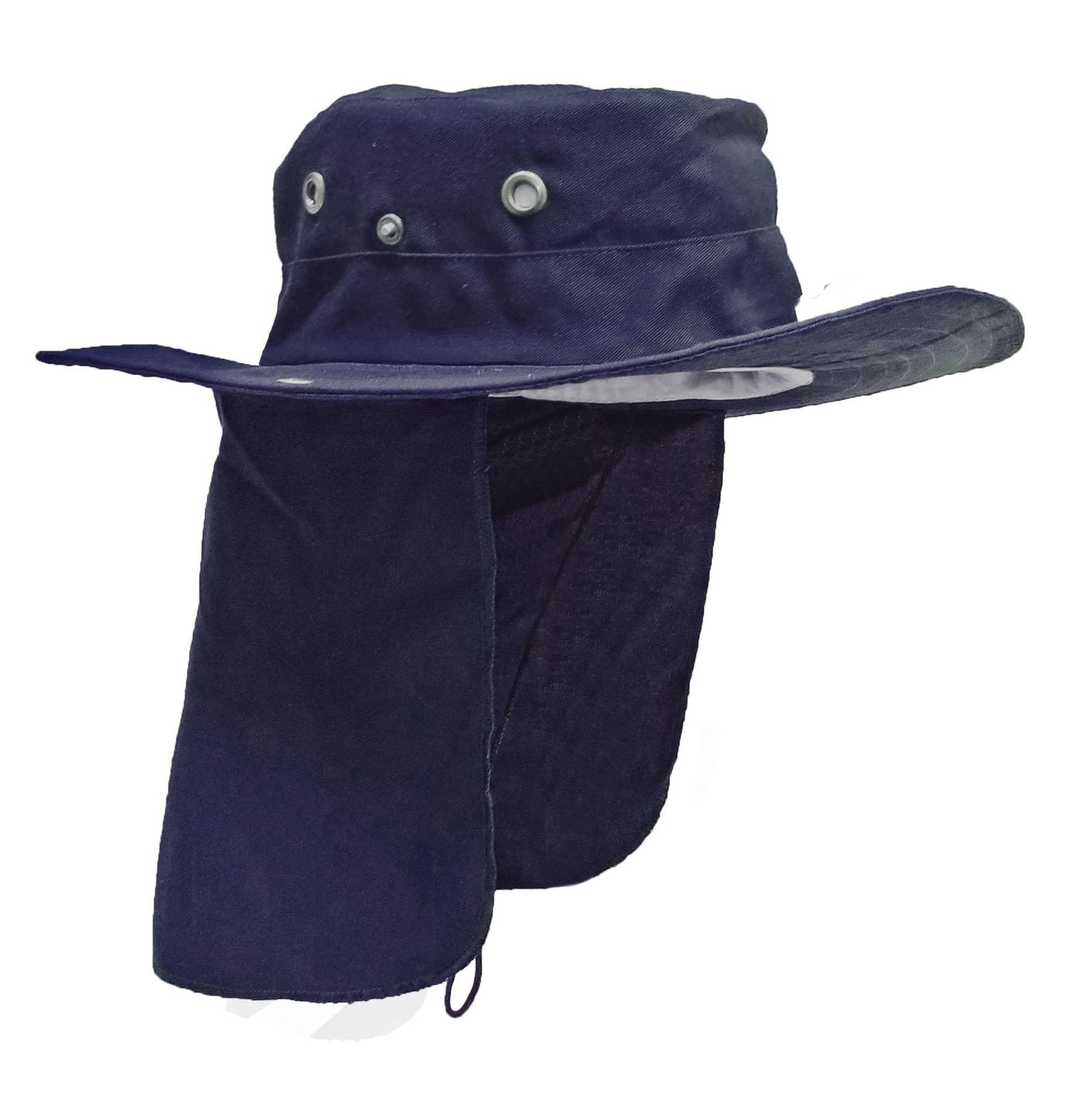 Sombrero Con Tapa Sol Azul Marino