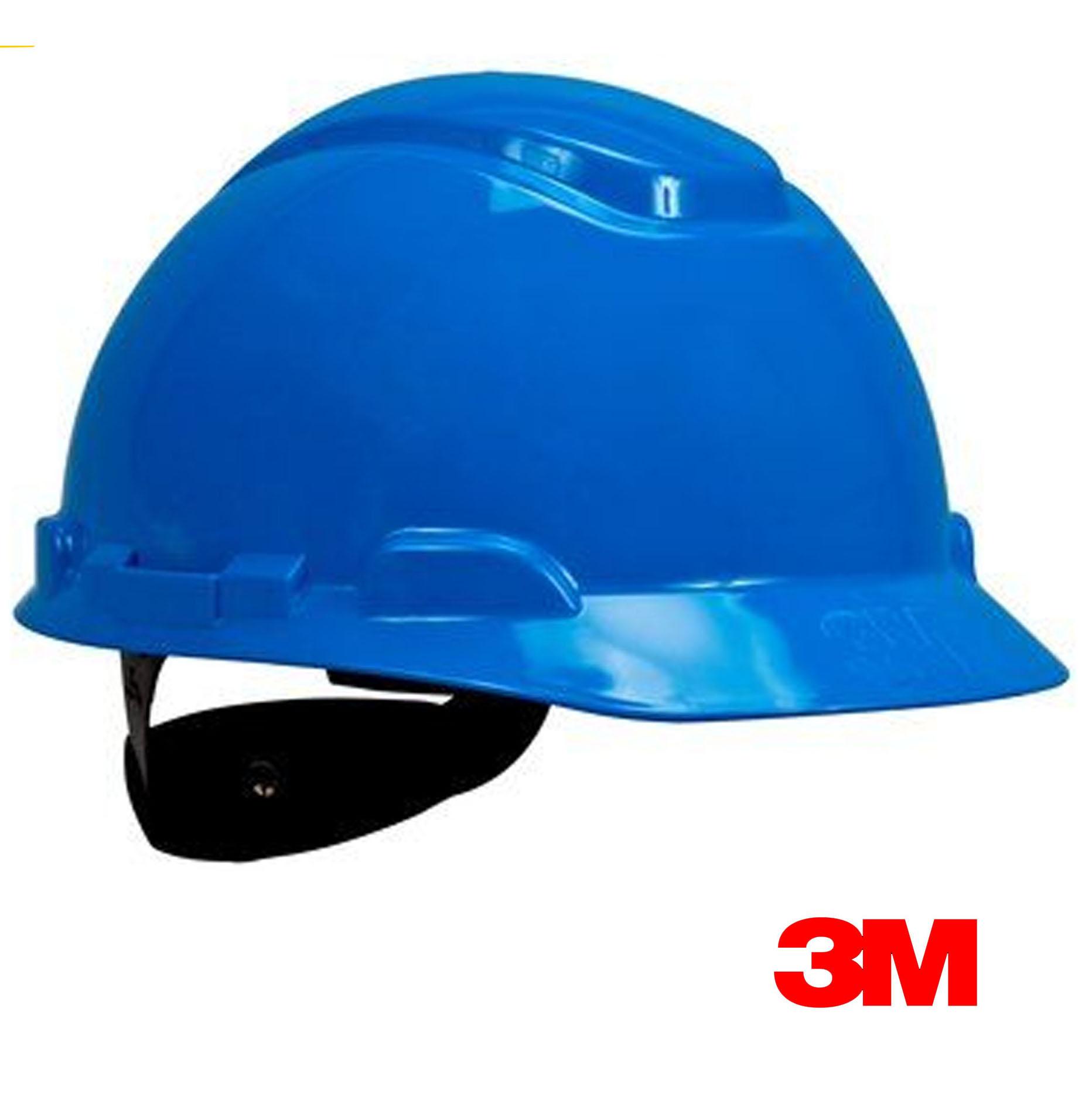 Casco de seguridad 3M Azul Con Rachet