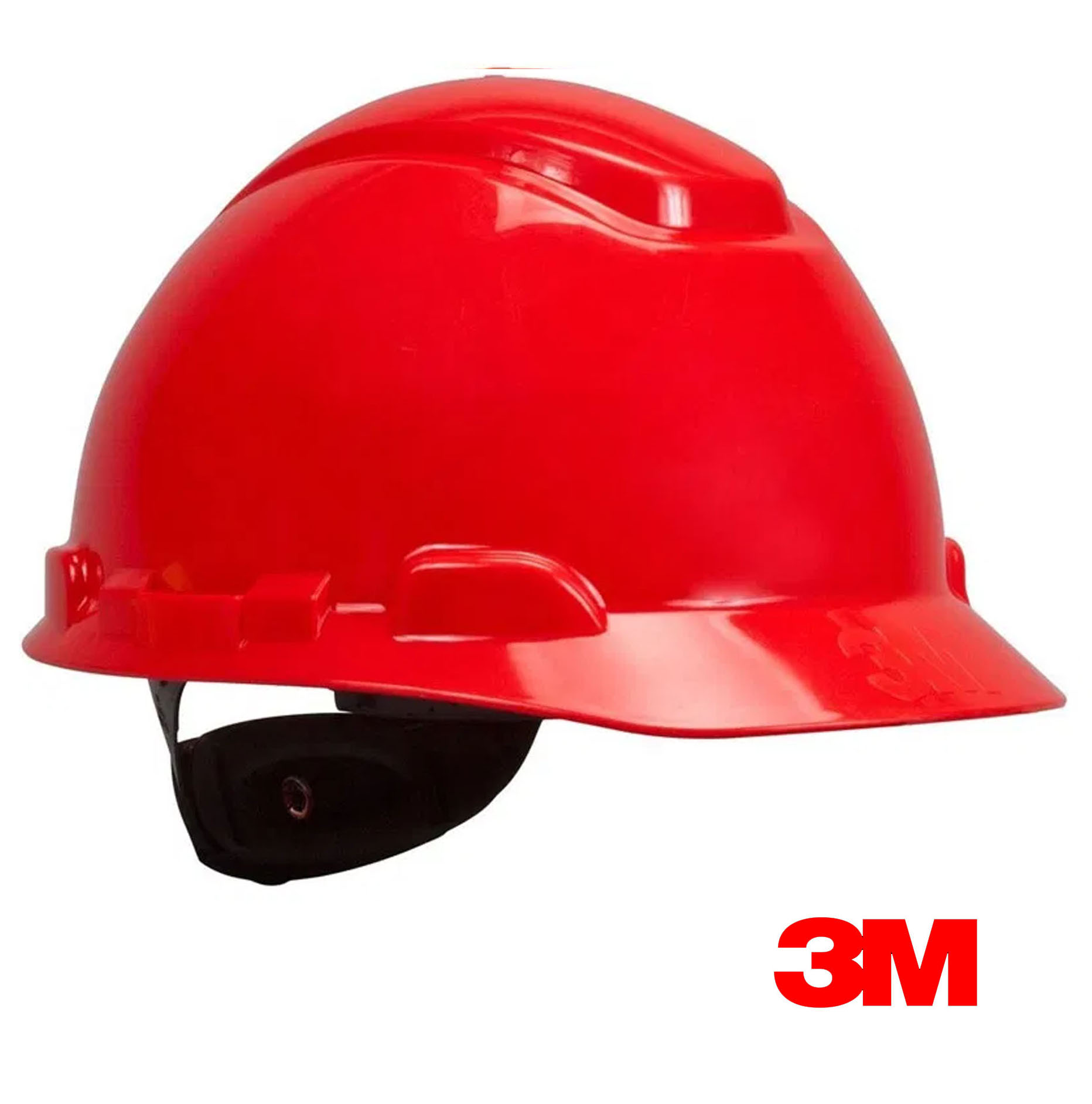 Casco de seguridad 3M Rojo Con Rachet