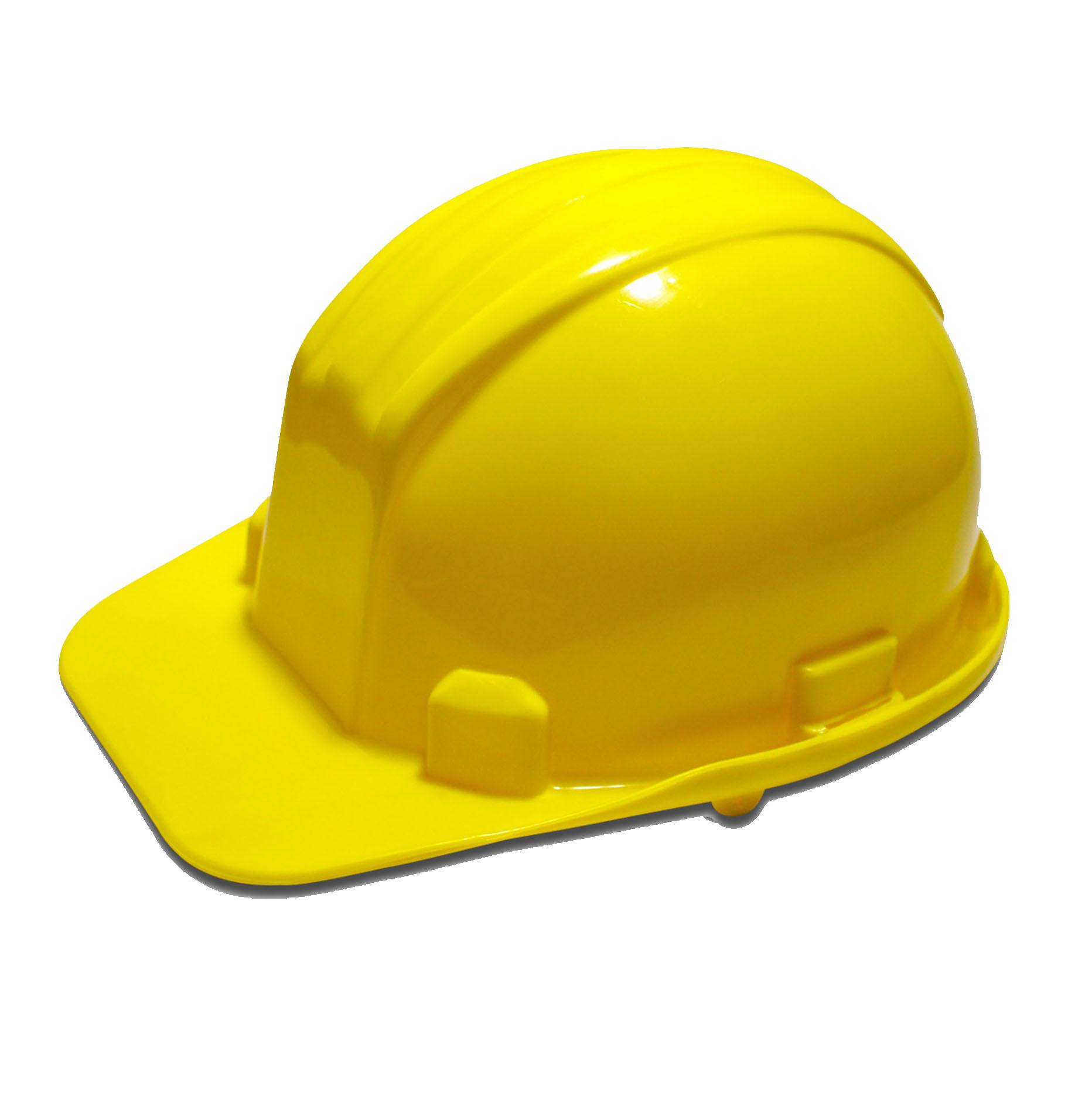 Casco Económico Amarillo