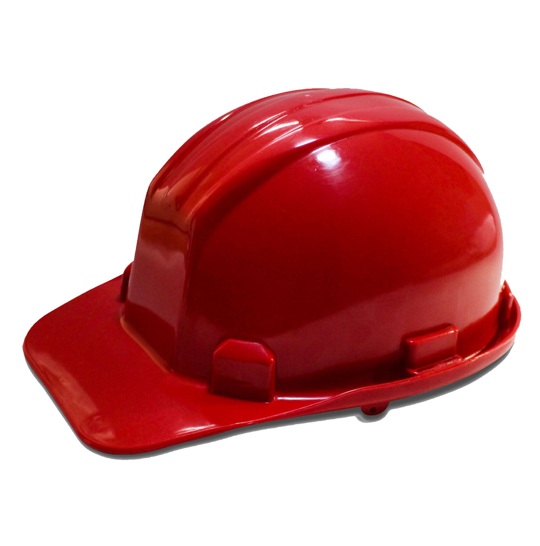 Casco Económico Rojo