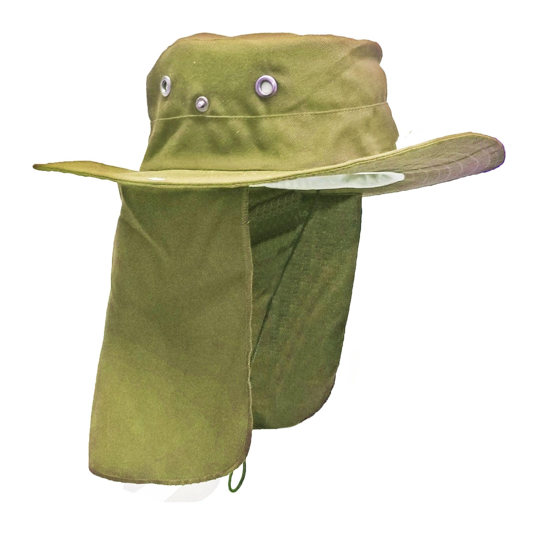 Sombrero Con Tapa Sol Beis