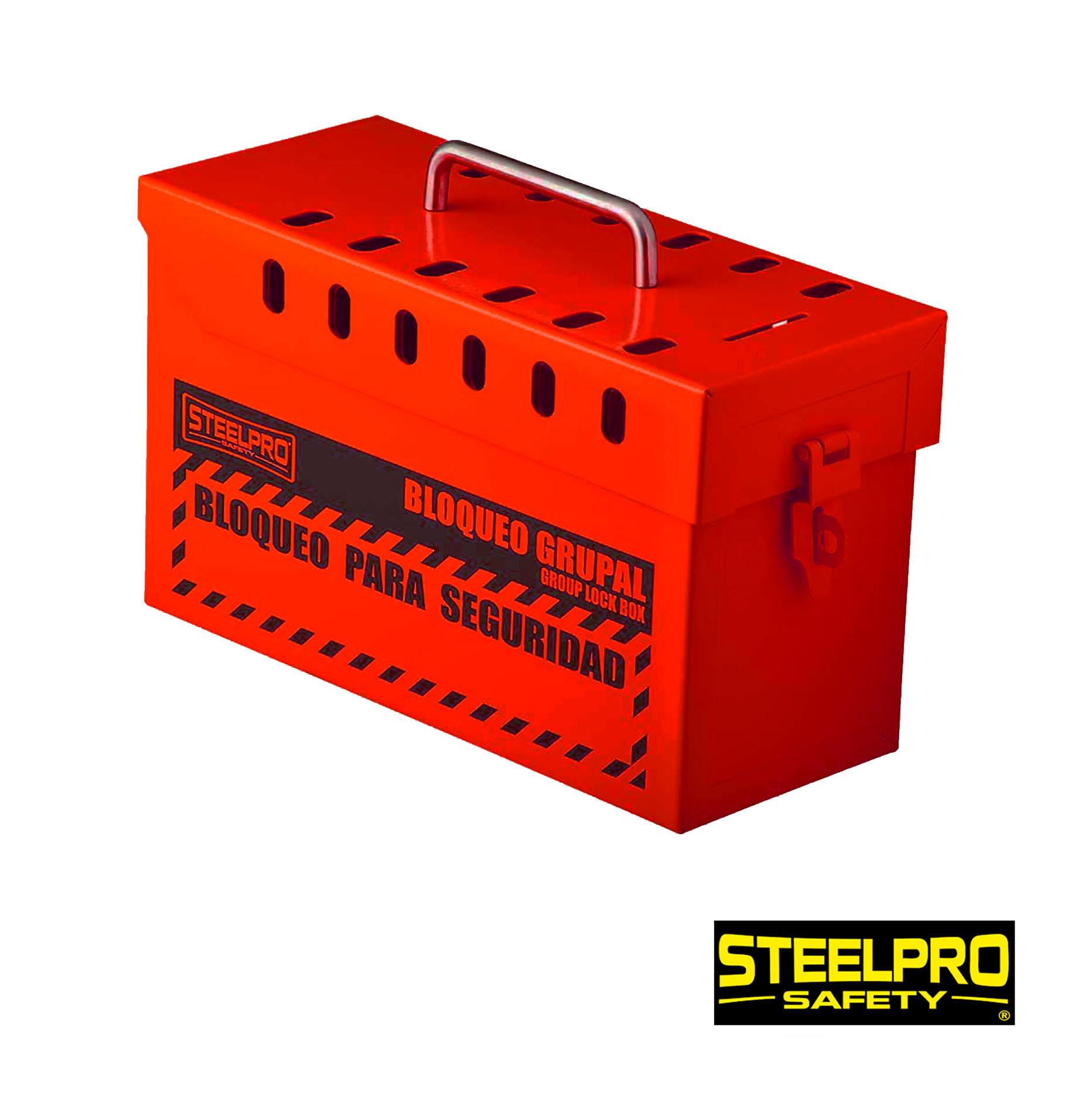 Caja De Bloqueo Grupal Rojo