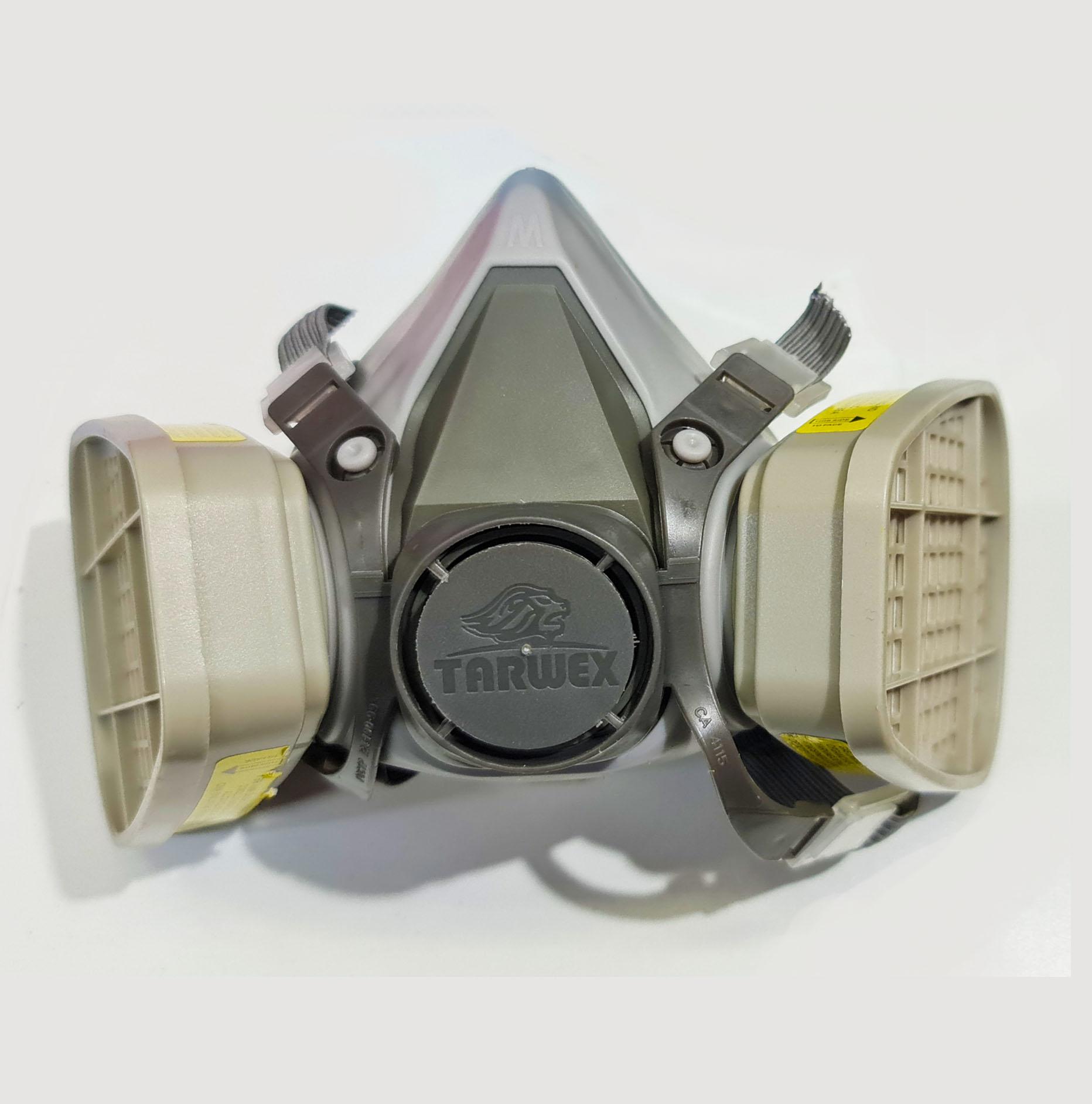 Respirador con Filtro para Vapores Orgánicos y Gases Ácidos