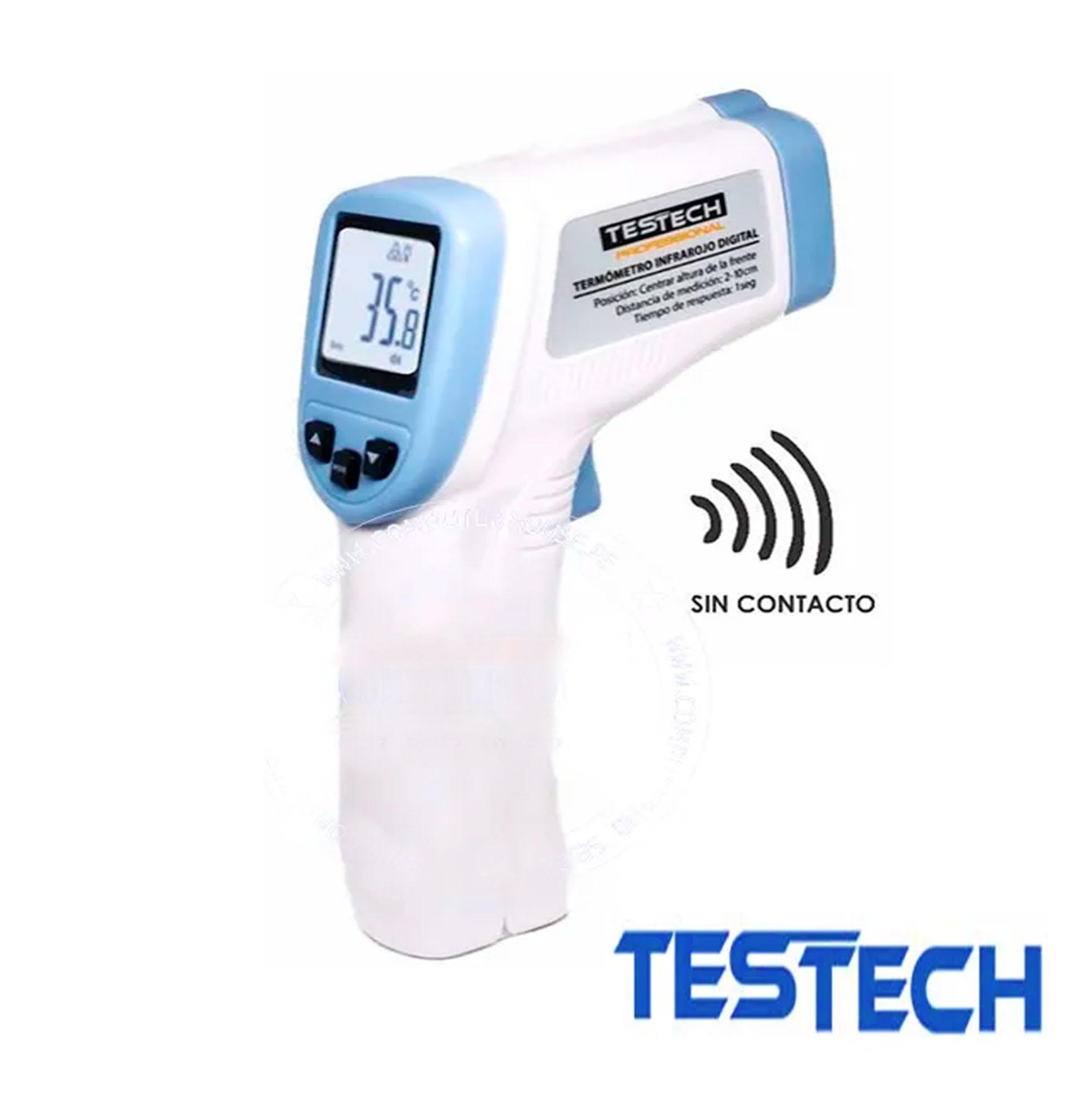 Termometro Infrarrojo Temperatura Digital