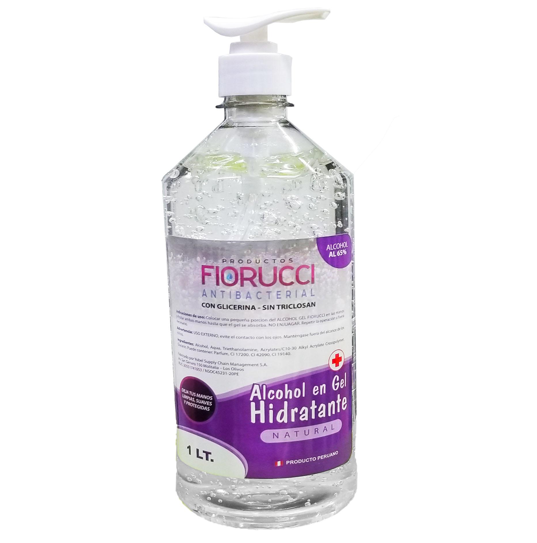 Alcohol En Gel Hidratante Botella De 1 Litro