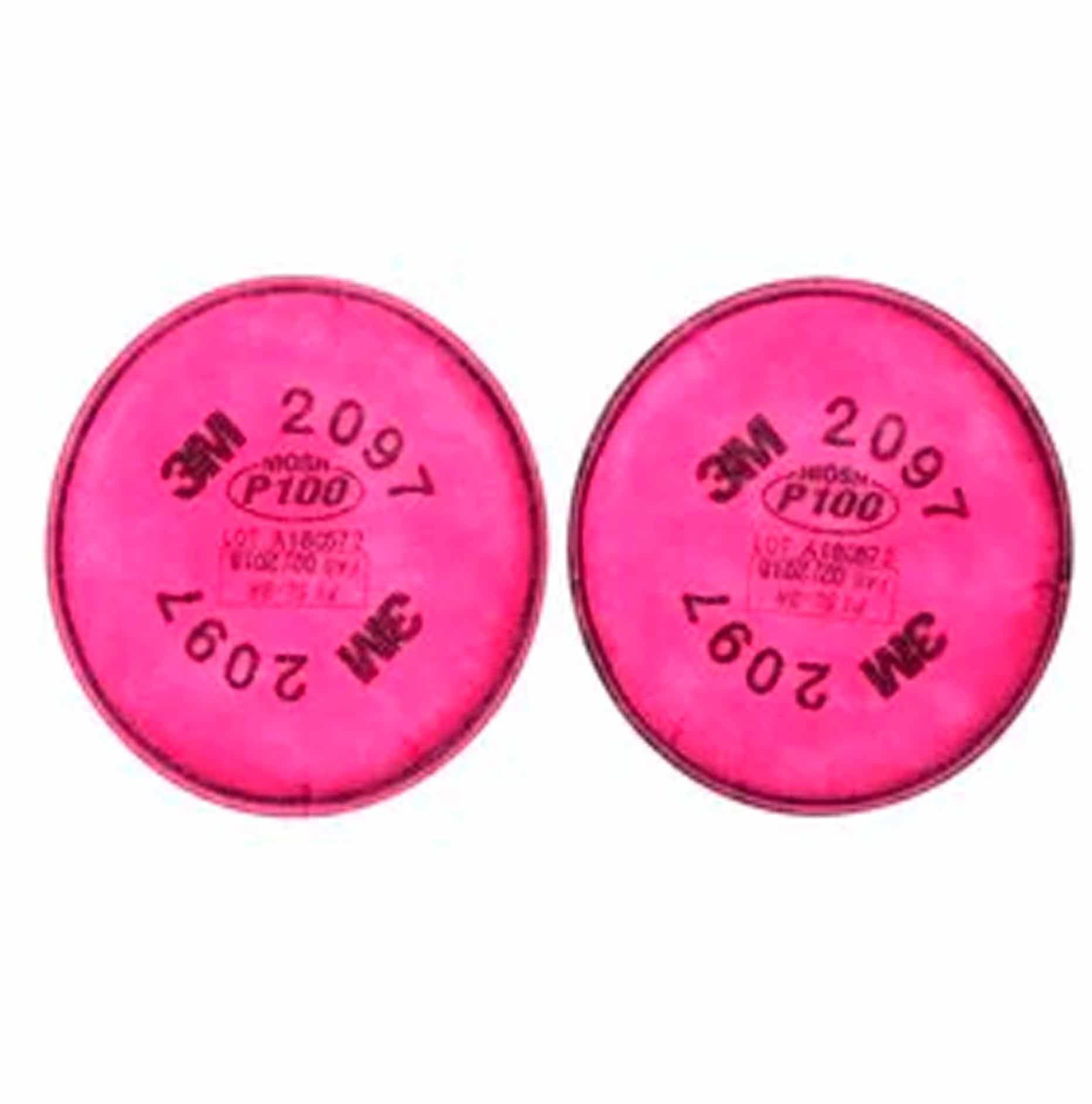 Filtro para partículas 3M P100, para Ozono y Vapores Orgánicos, 2097