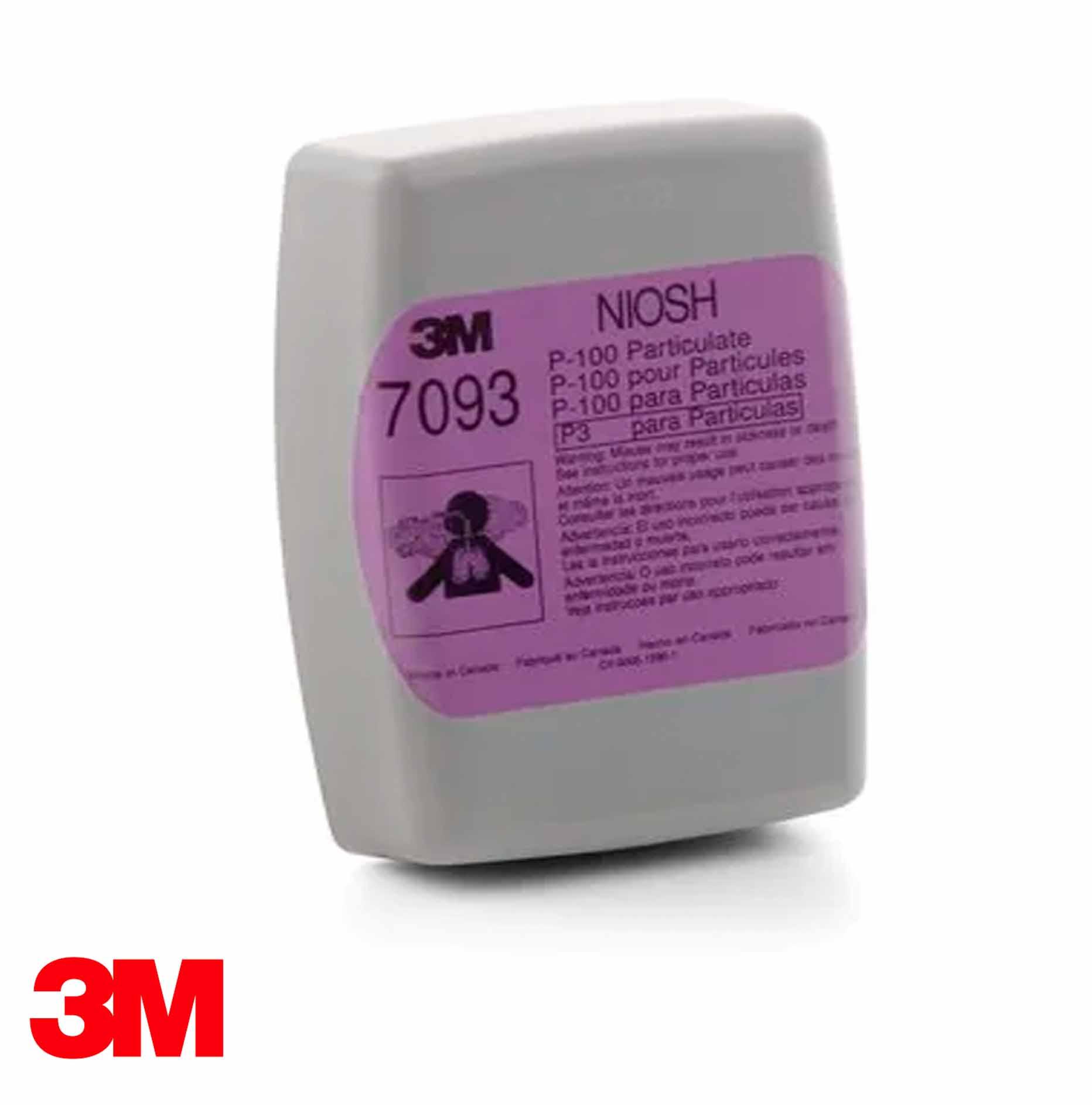 Filtro para Partículas 3M P100, 7093B