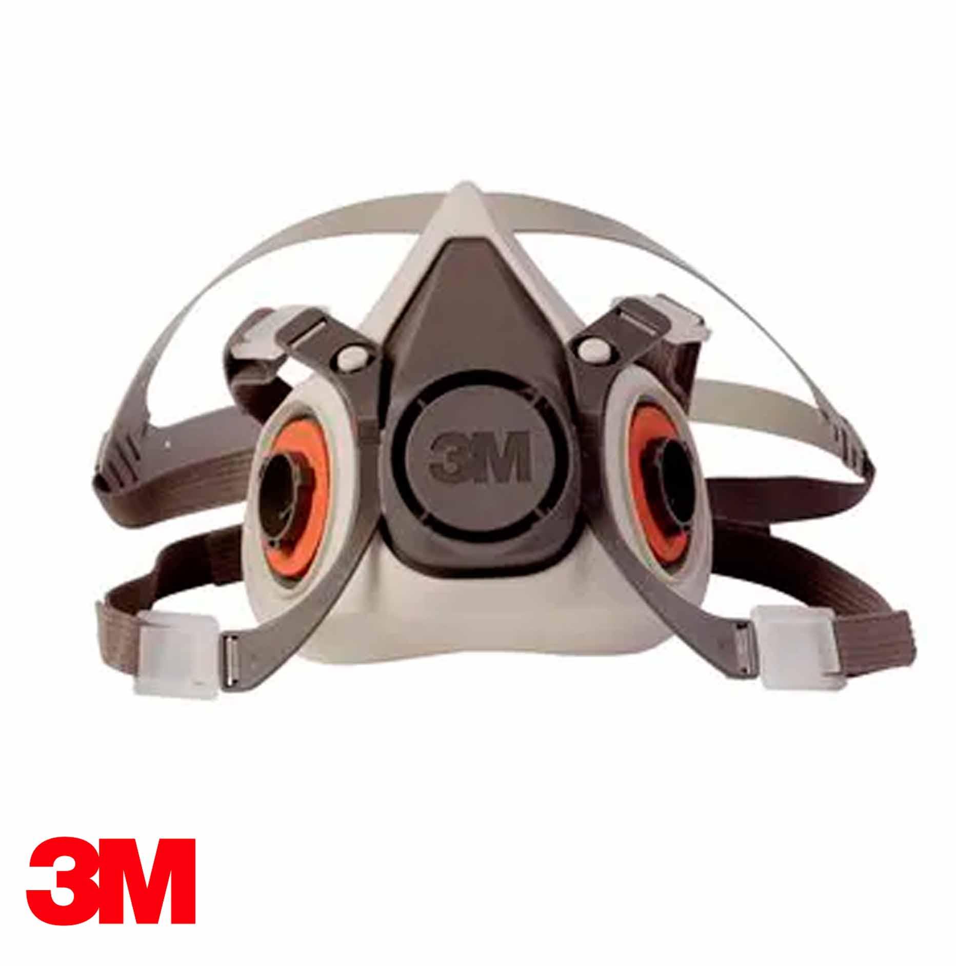 Respirador Reutilizable de Media Cara 3M 6200