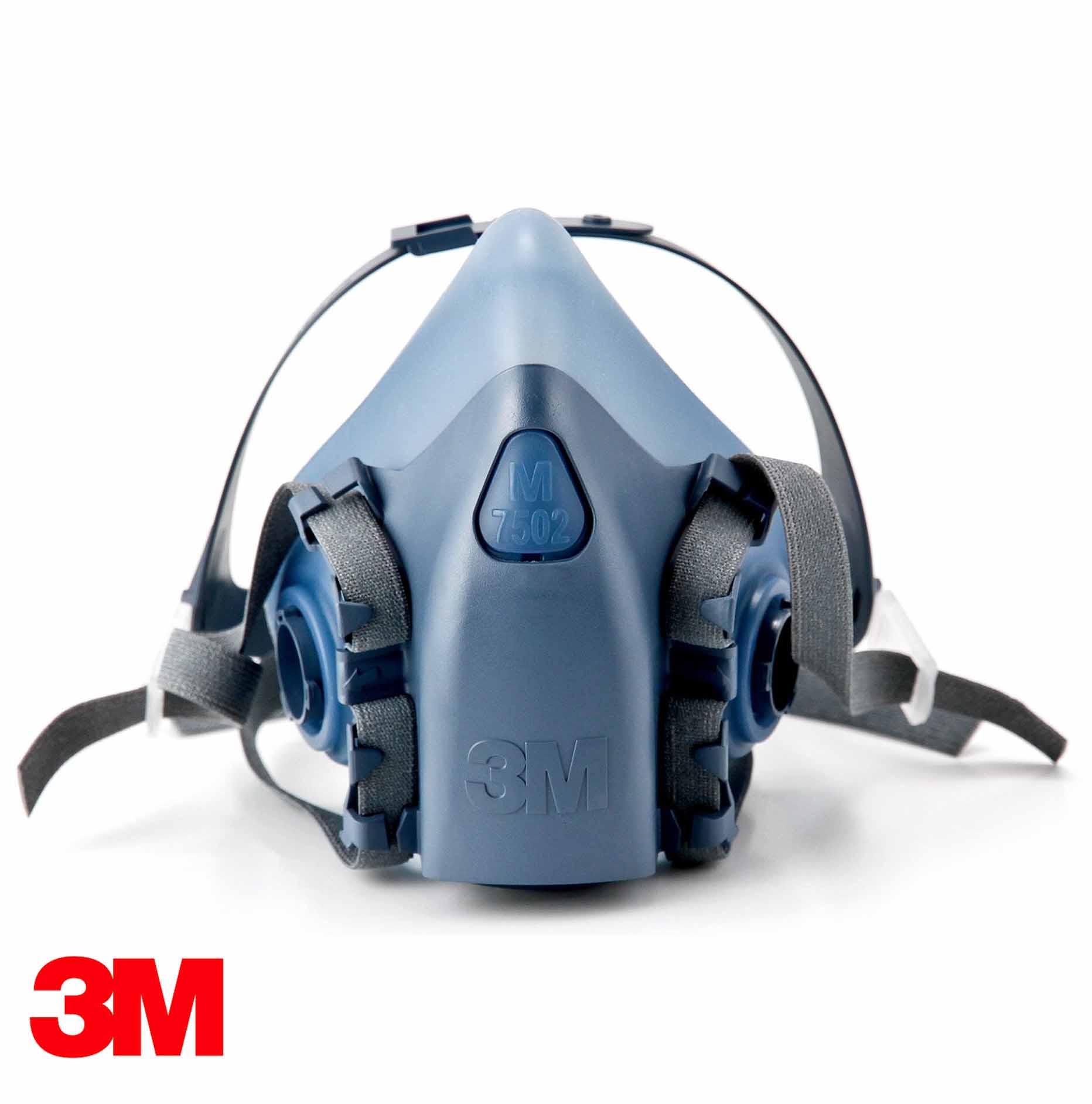 Respirador silicona 7502 media cara